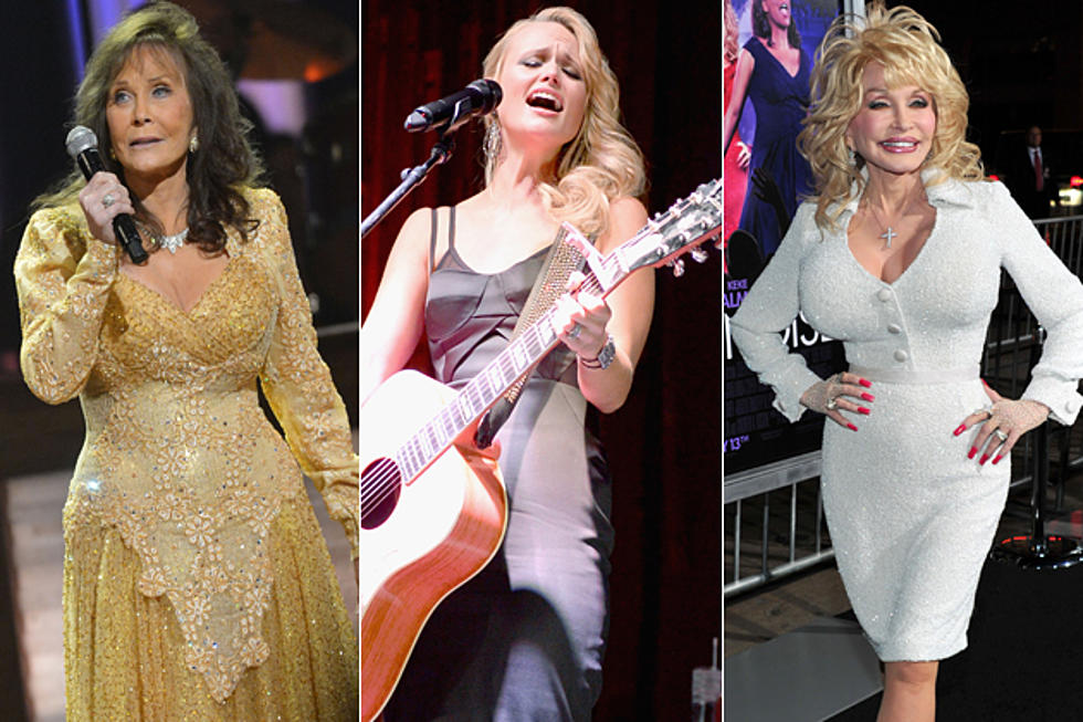 Popular female country songs 2012