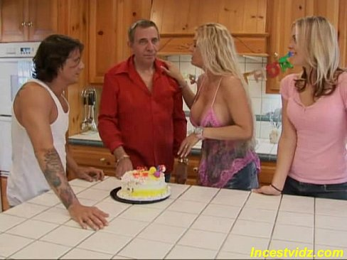 Real family sex party