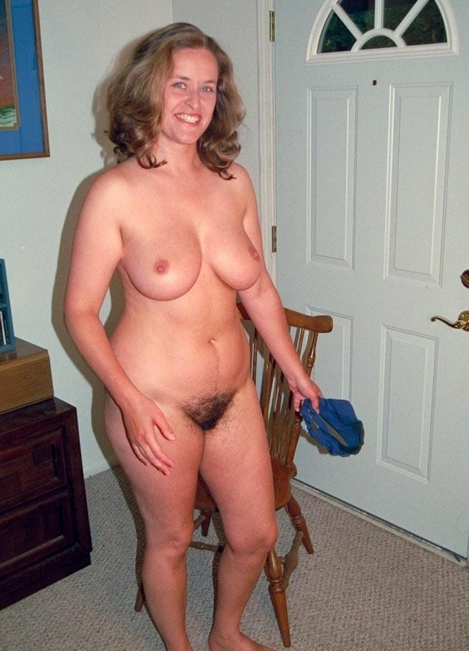 Nude very whte woman