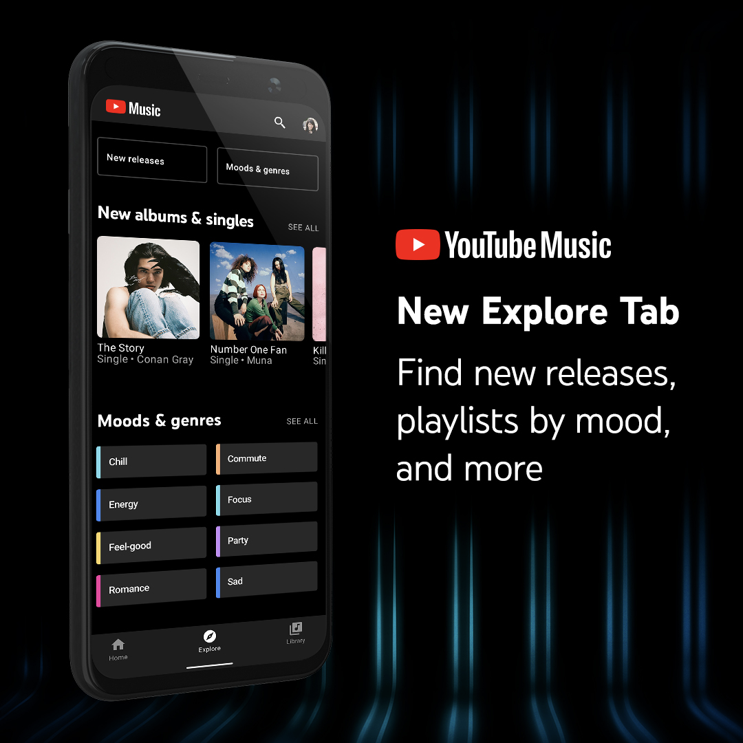 Discover new music youtube