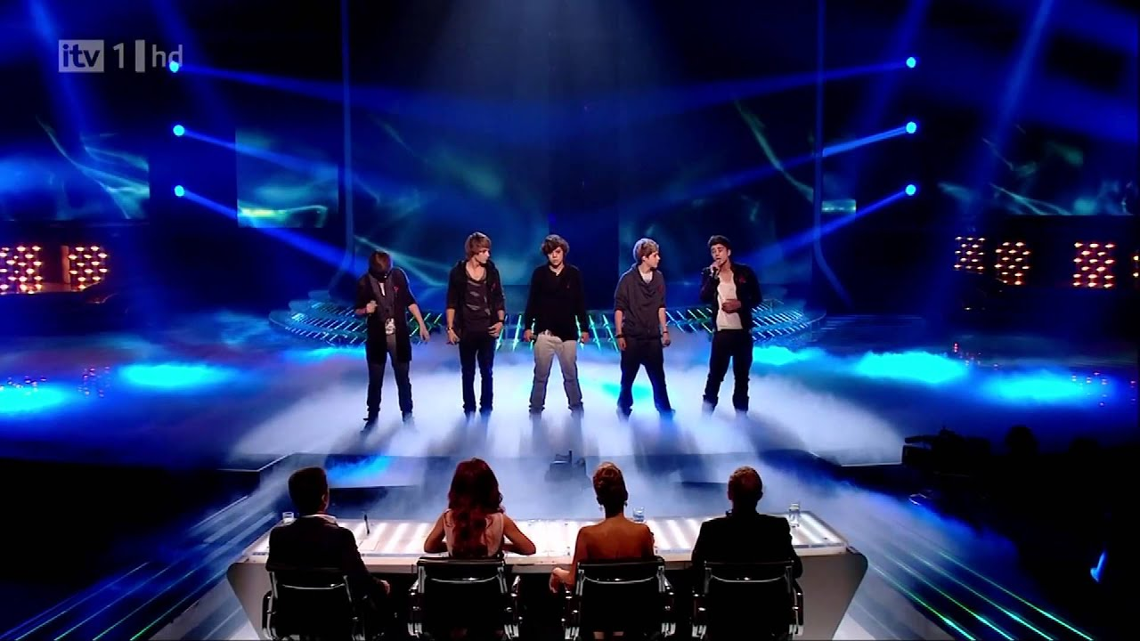 One direction x factor live show 4