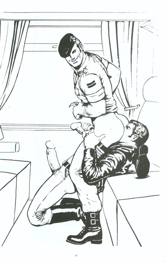 Sex on the train by tom of finland