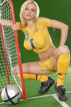 Soccer body paint uncensored